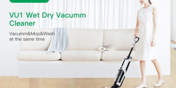Acekool Cordless Wet Dry Vacuum Cleaner